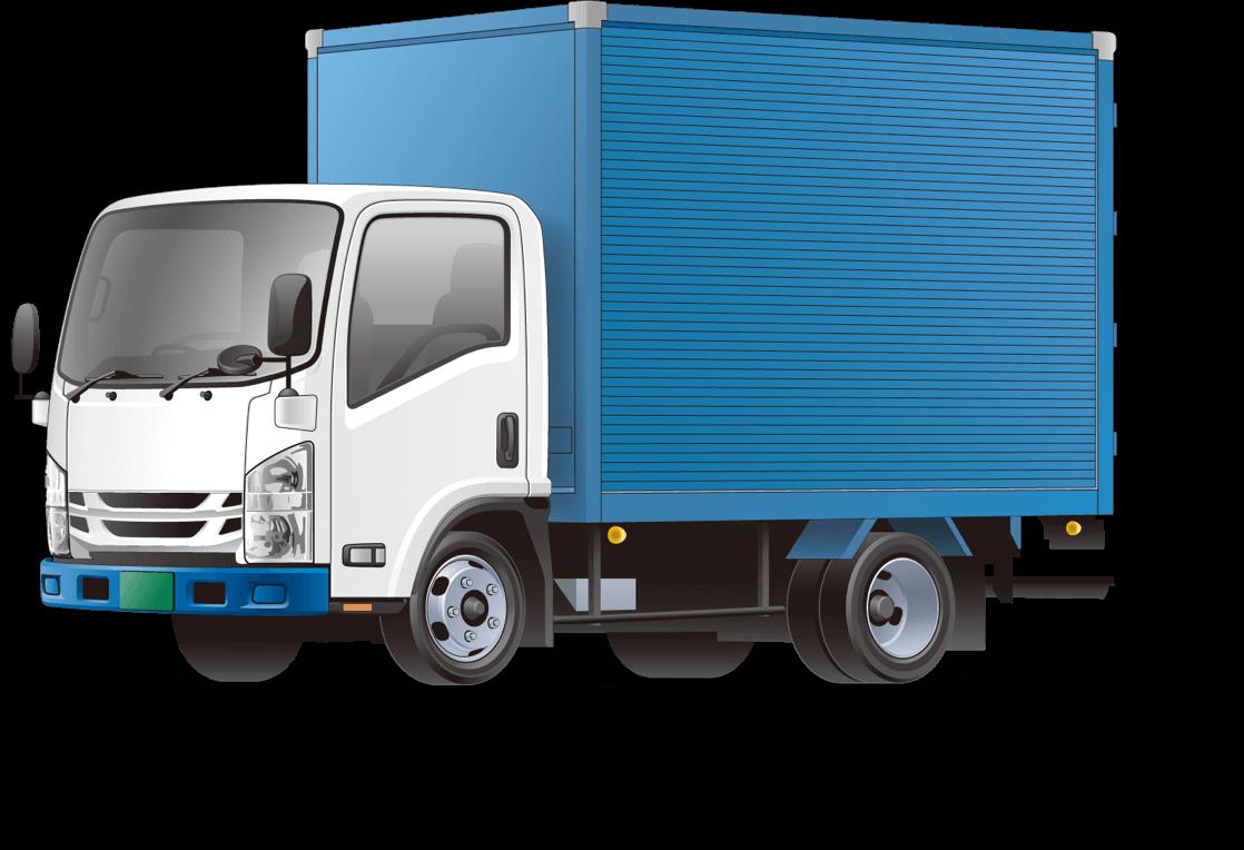 小型トラック便による配送サービ...